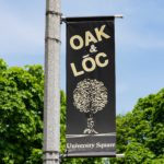 Oak & Loc University Square Sign